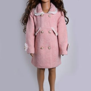 Baby Pink Trench Coat