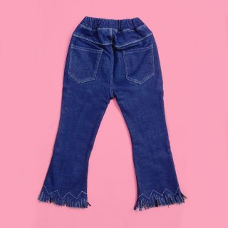 Classic Blue Flare Jeans (With velvet lining)