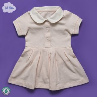 Baby Pink Polo Dress
