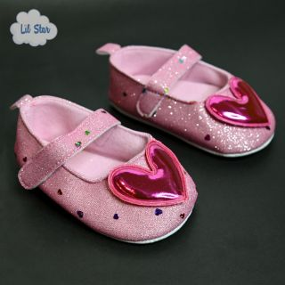 Pink Heart Shoes